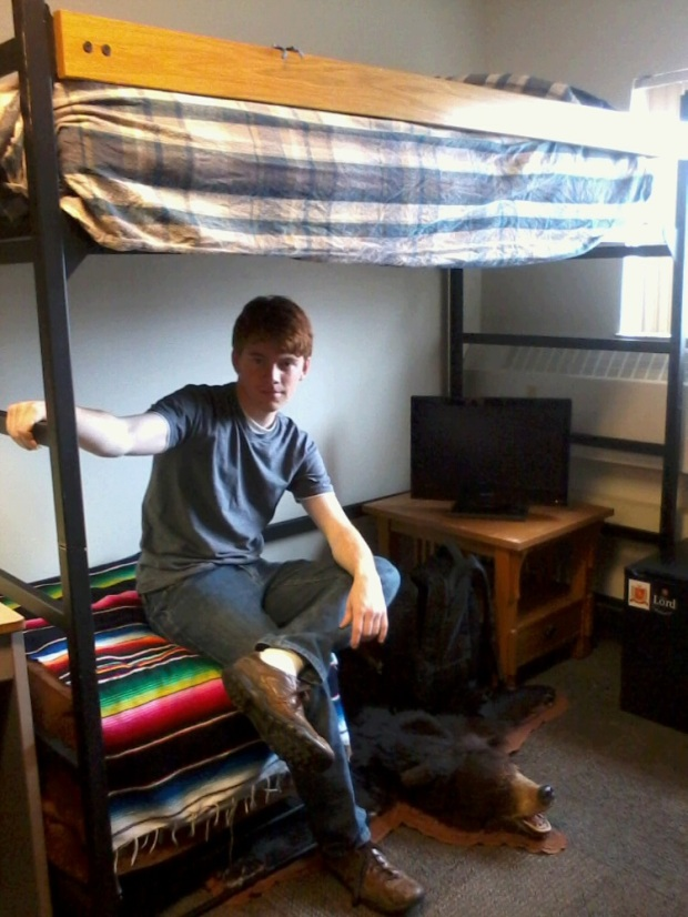 My kid moved into a dorm...